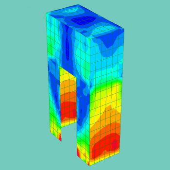 Finite Element Analysis of GRP Antenna Shrouds