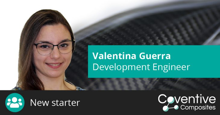 Valentina Guerra joins Coventive Composites as Development Engineer
